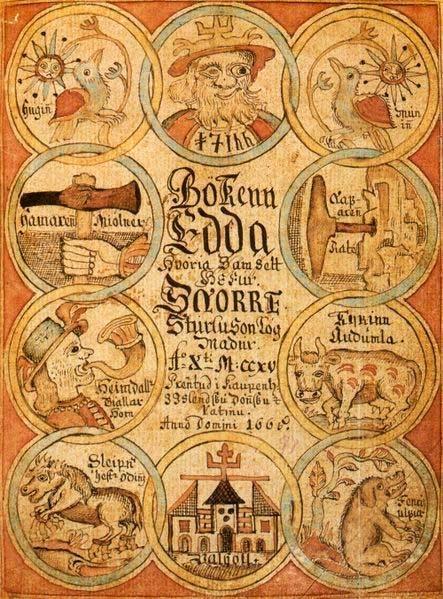 Los Edda - leyendas épicas germánicas