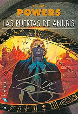 Portada de Las puertas de Anubis, de Tim Powers