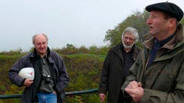 Jean Pierre Verney (izquierda) y Jacques Tardi (centro)