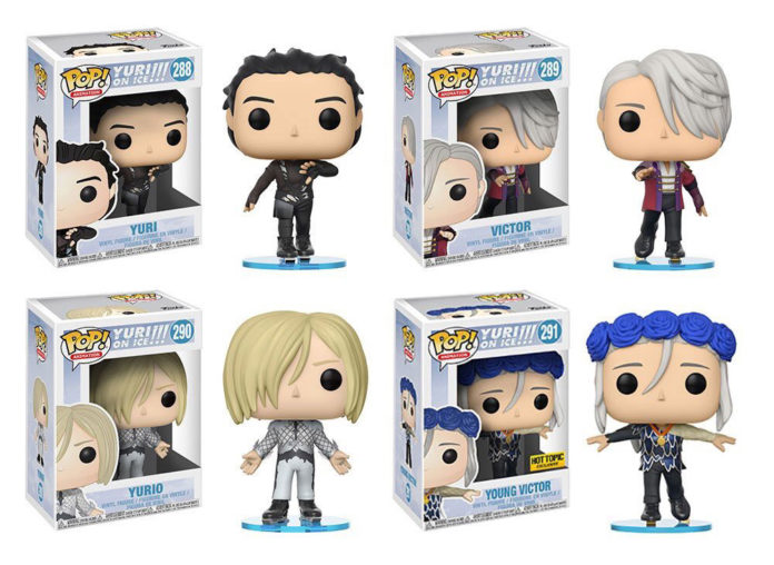 Funkos de Yuri on Ice