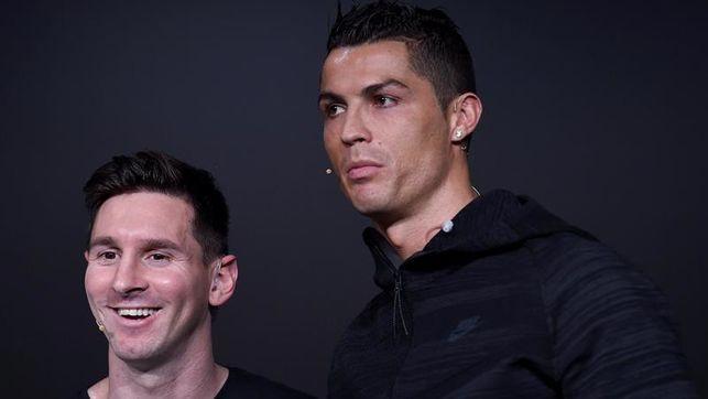 Leonel Messi y Cristiano Ronaldo
