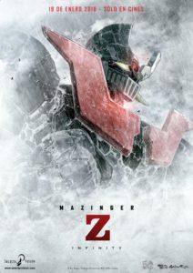 """Cartel de """"Mazinger Z Infinity"""""""