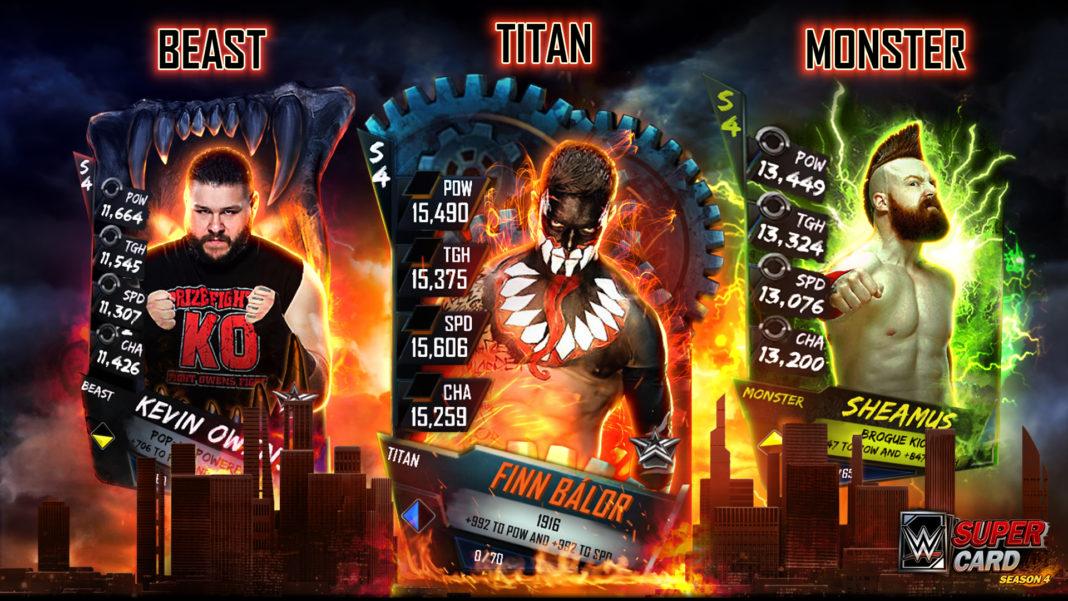 Nueva actualización de WWE SuperCard