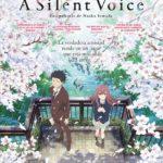 """Cartel de """"A Silent Voice"""", por Naoko Yamada"""