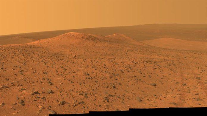 Marte desde Opportunity