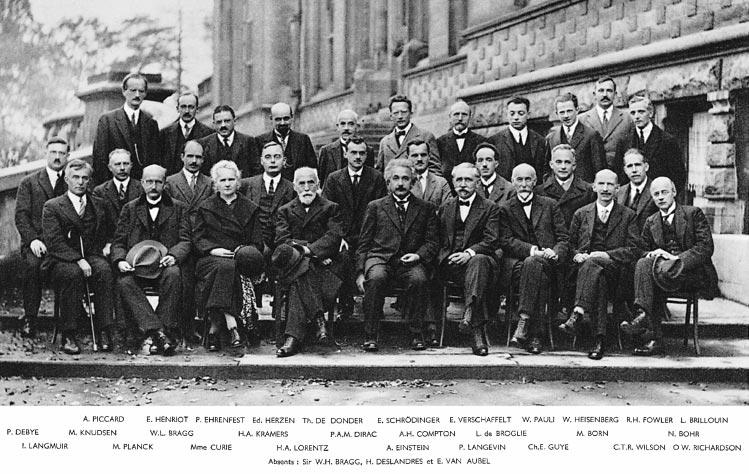 Quinto congreso Solvay