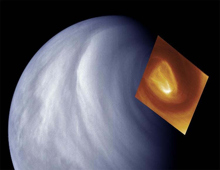 Vórtice en Venus