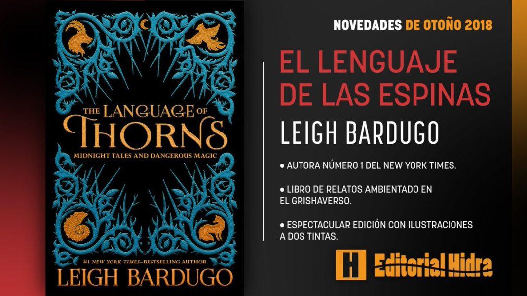 Resultado de imagen de reseña libro el lenguaje de las espinas