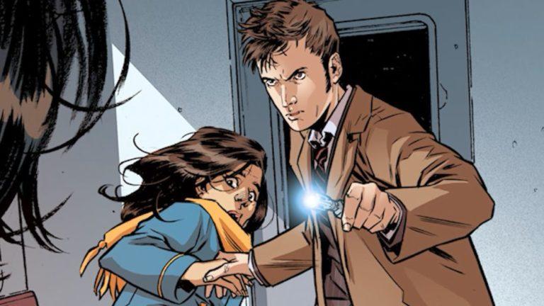 """""""Doctor Who: Las fuentes de la eternidad"""": Una nueva aventura del décimo Doctor en la actualidad"""