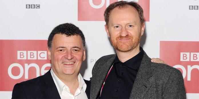 Steven Moffat y Mark Gatiss