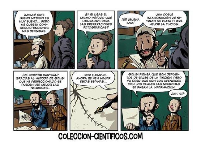Colección Científicos: Ramón y Cajal