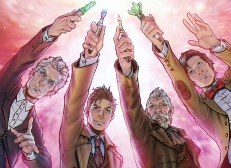 """""""Doctor Who: Cuatro doctores"""": Una nueva aventura con los doctores más conocidos"""