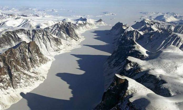 Paraje de la isla de Baffin
