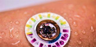 Parche biomarcador sin baterías