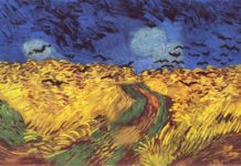El campo de trigo, de Van Gogh