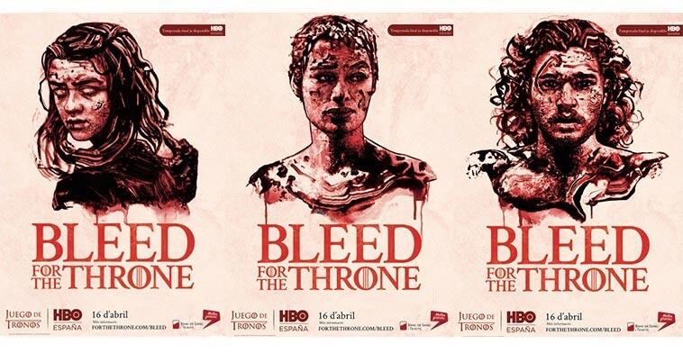 Dona sangre con Juego de tronos