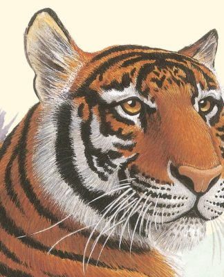 """Ilustración de la portada de """"El mundo de los animales"""", de Desmond Harris"""