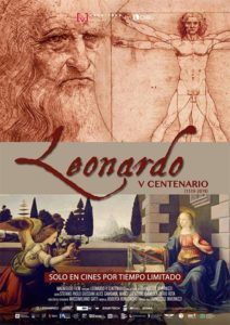 Póster Leonardo V centenario Documental