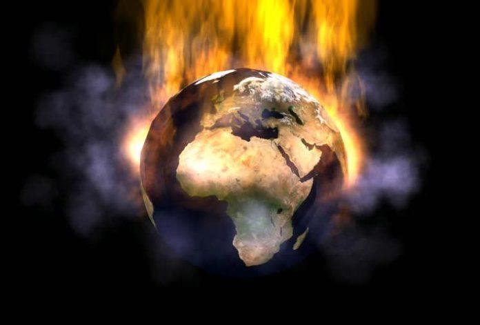 Tierra en llamas