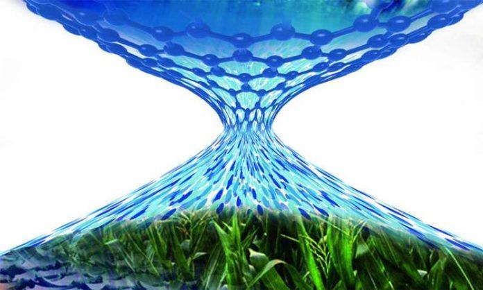 Membrana de nanomesh para desalinizar