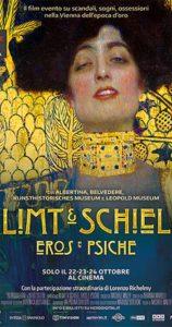 Klimt & Schiele, eros y psique póster