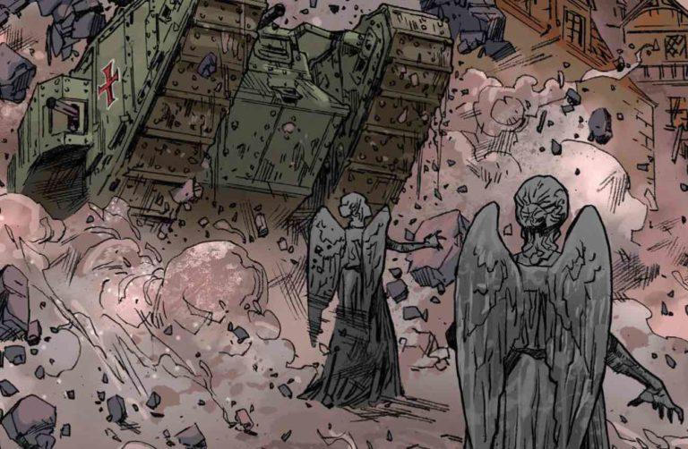 Doctor Who 2: Los Ángeles Llorosos de Mons, una historia de la I Guerra Mundial