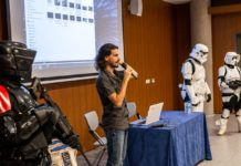 Marino Darés presenta 'Star Wars Collateral Story' en TLP Tenerife. | Fuente: Alby Martín