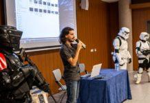 Marino Darés presenta 'A Star Wars Collateral Story' en TLP Tenerife. | Fuente: Alby Martín