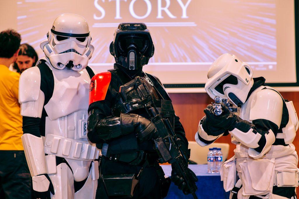 Presentación del proyecto durante TLP Tenerife Summer 2019. | Fuente: Star Wars Collateral Story.