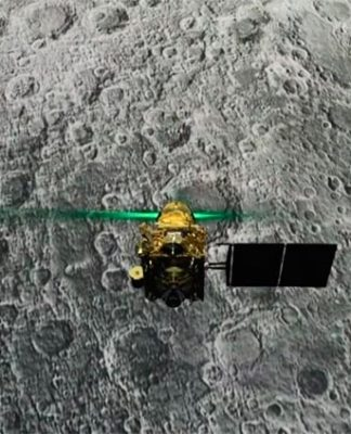 La India aterriza en la Luna