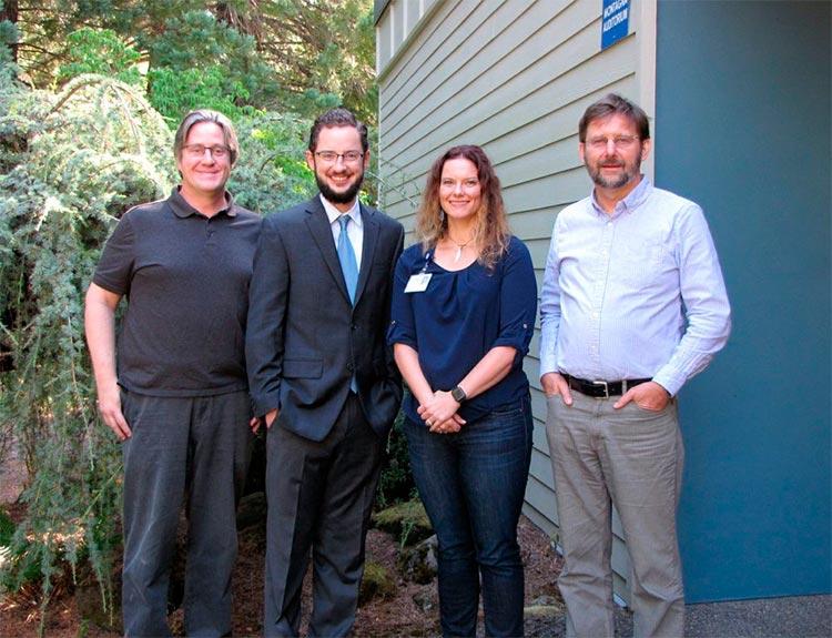 Larry Sherman, Paul Donelson, Rachel Stagner y Henryk Urbanski