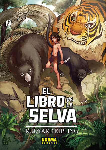 el libro de la selva norma portada