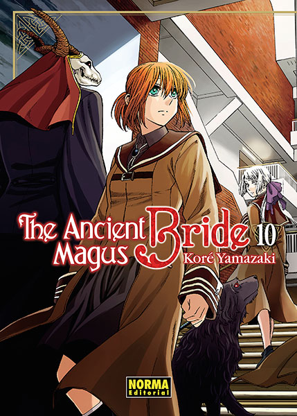 the ancient magus 10 portada