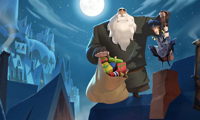 películas navideñas klaus netflix