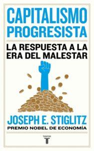Portada de Capitalismo progresista, de Stiglitz