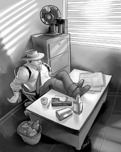 Detective de novela negra