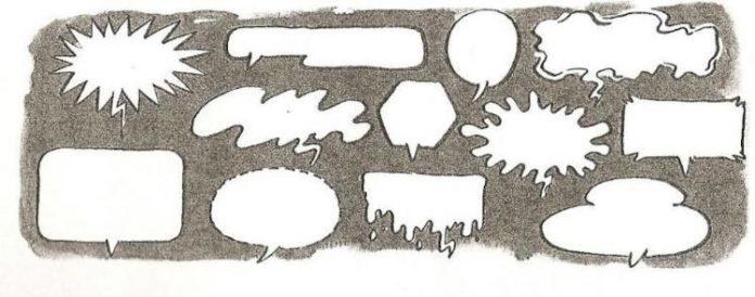 Cómic - Formas de bocadillo
