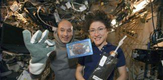 Primeras galletas cocinadas en el espacio
