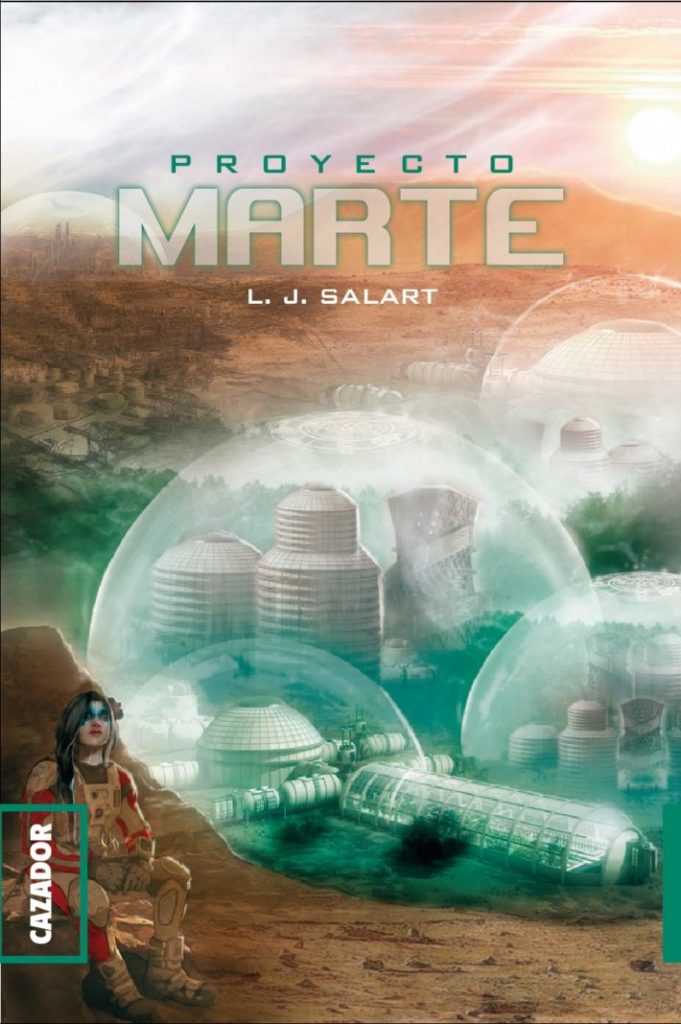 """Portada de """"Proyecto Marte"""""""