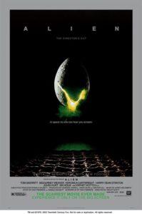 Póster de Alien: el octavo pasajero