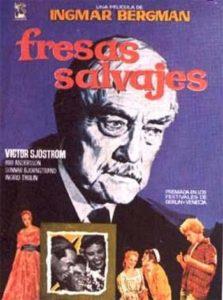 Póster de Fresas salvajes, de Ingmar Bergman