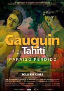 Póster de Gauguin en Tahití: paraíso perdido