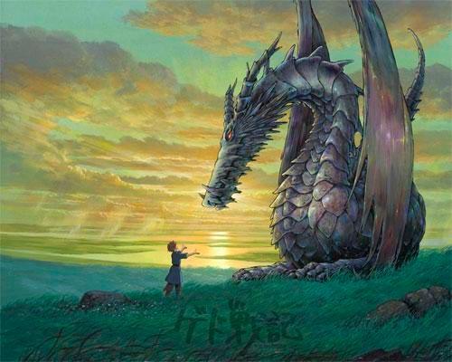 Fotograma de Gedo Senki, de Studio Ghibli