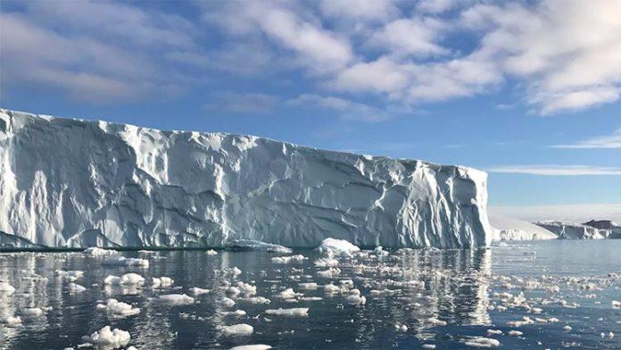 Glaciar en Groenlandia