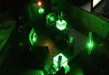 Nueva plataforma en la que los rayos de luz se comunican entre sí a través de la materia sólida