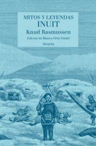 Portada de Mitos y leyendas inuit, de Knud Rasmussen