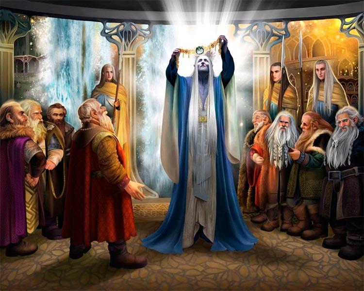 Elu Thingol y el Nauglamir