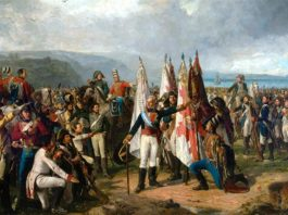 El juramento de las tropas del Marqués de la Romana