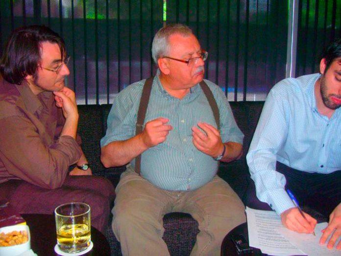 Faraldo, Sapkowski y Joaquín Torán