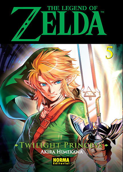 twilight princess manga portada 5